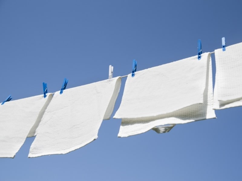 hướng dẫn làm khô quần áo