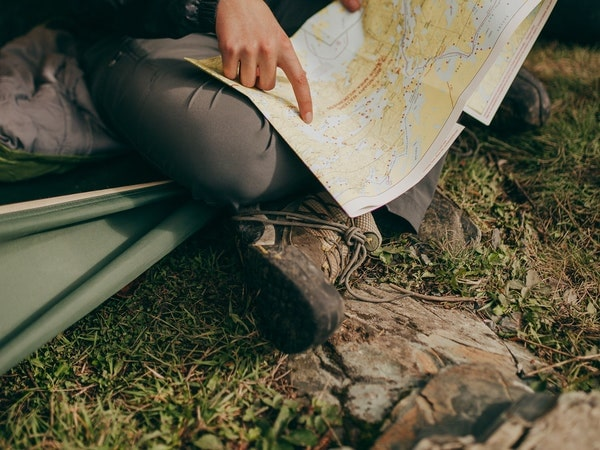 trekking ngày mưa